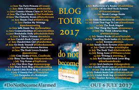 do not become alarmed blog tour