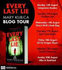 mary kubica blog tour