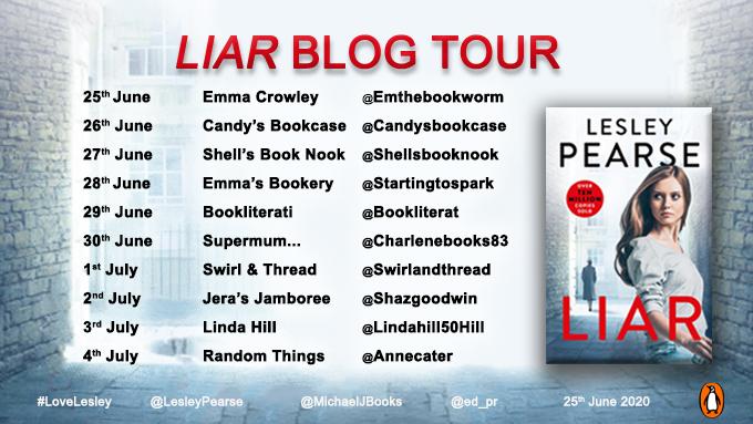 LIAR Blog Tour Banner