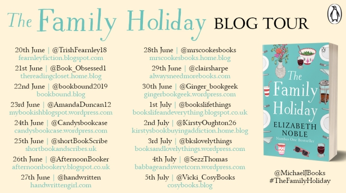 The Family Holiday blog tour asset