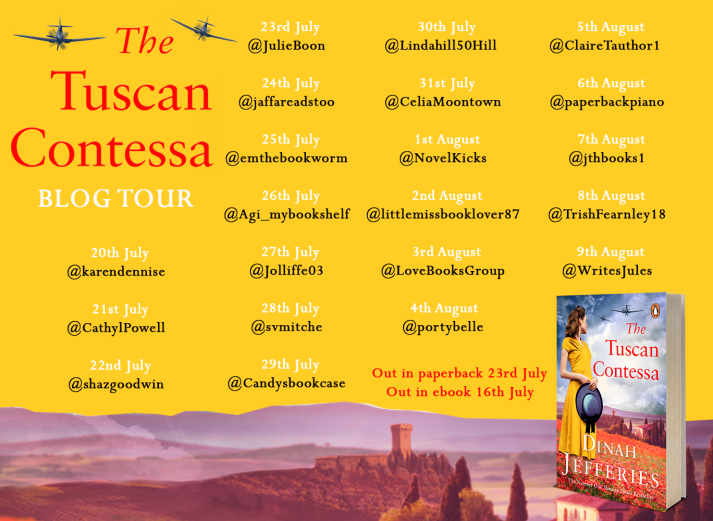 Tuscan Contessa Blog Tour Banner